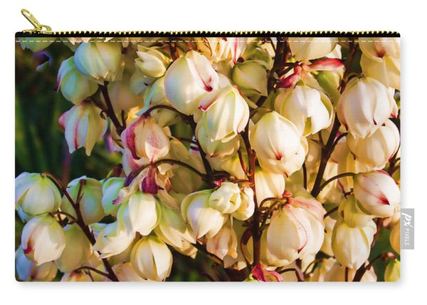 Filled With Joy Floral Bunch Carry-all Pouch
