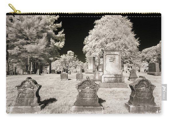 Carry-all Pouch featuring the photograph Final Three by Brian Hale