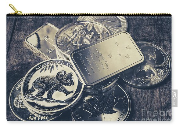 Finance And Commodities Carry-all Pouch