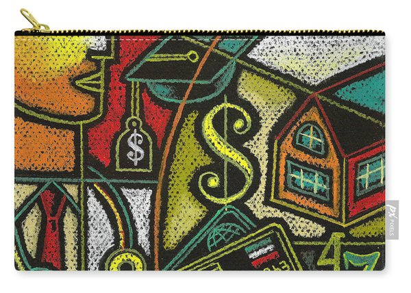 Finance And Medical Career Carry-all Pouch