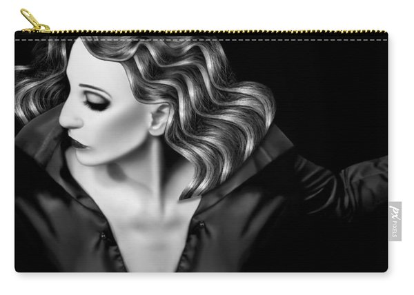 Finding My Light In The Darkness - Self Portrait Carry-all Pouch