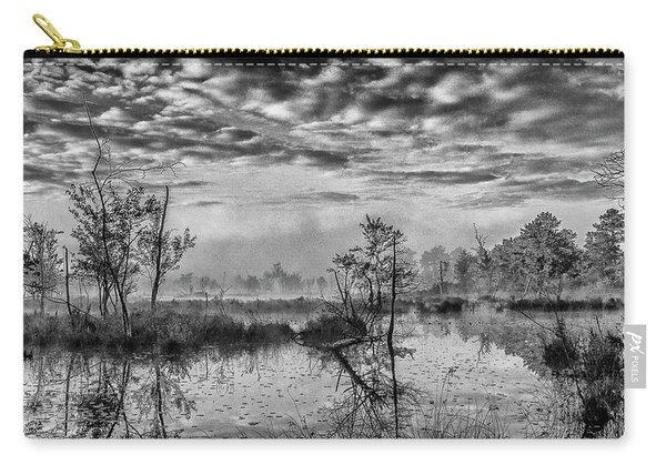 Fine Art Jersey Pines Landscape Carry-all Pouch