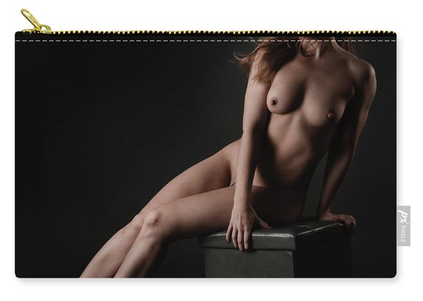 Fine Art Of A Woman Carry-all Pouch