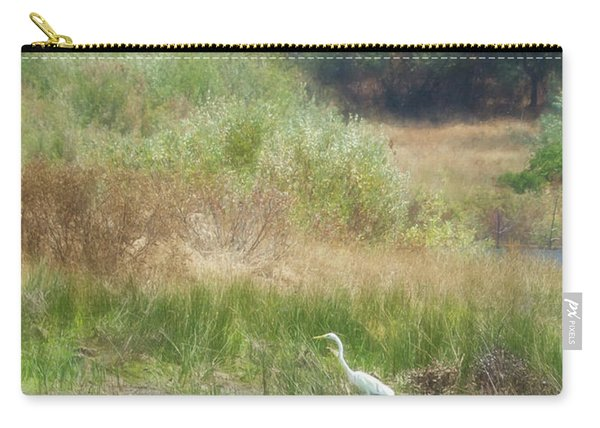 Finnon Lake Egret Carry-all Pouch