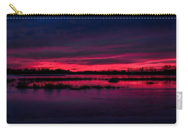 Fire And Ice Sunrise Carry-all Pouch