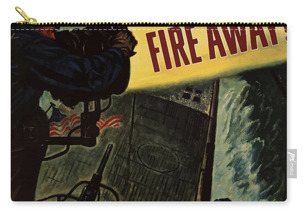 Fire Away Carry-all Pouch