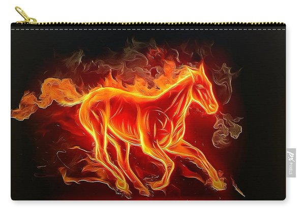 Fire Horse Carry-all Pouch