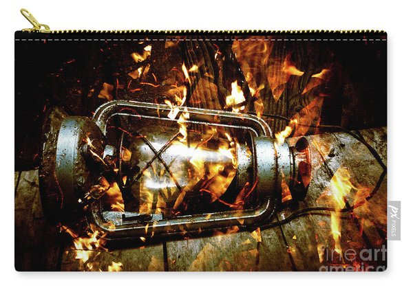 Fire In The Hen House Carry-all Pouch