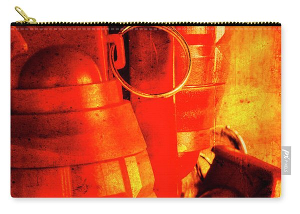 Fire In The Hole Carry-all Pouch