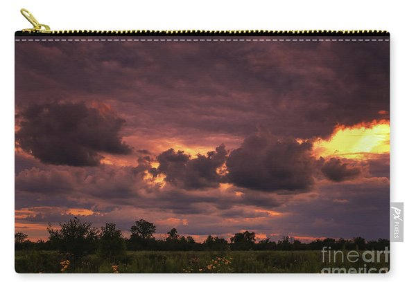 Fire In The Sky Tonight Carry-all Pouch