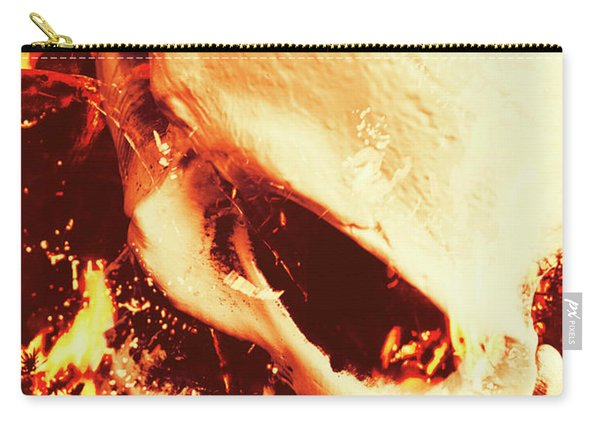Fire Of Doom Carry-all Pouch