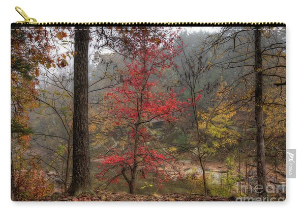 Fire On The Backroads Carry-all Pouch