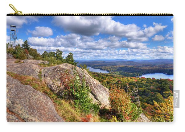 Fire Tower On Bald Mountain Carry-all Pouch