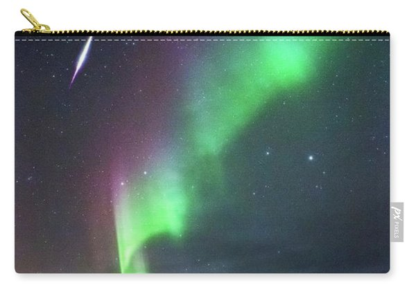 Fireball In The Aurora Carry-all Pouch