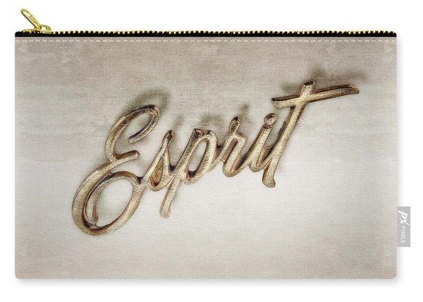 Firebird Esprit Chrome Emblem Carry-all Pouch