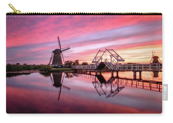 Fired Sky Kinderdijk Carry-all Pouch