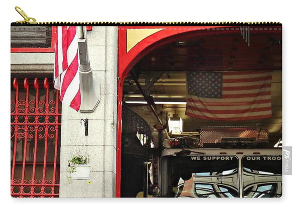 Firefighters Of New York - Engine Sweet 14 Carry-all Pouch