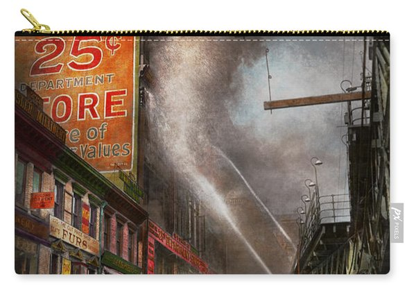 Fireman - New York Ny - Show Me A Sign 1916 Carry-all Pouch