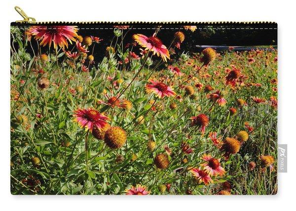 Firewheel Wildflower Carry-all Pouch