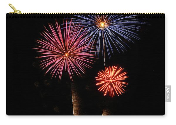 Firework Trees Carry-all Pouch