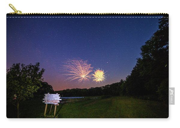 Fireworks And The Stars Carry-all Pouch