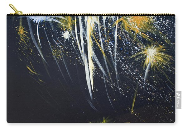 Fireworks Bonfire On The West Bar Carry-all Pouch