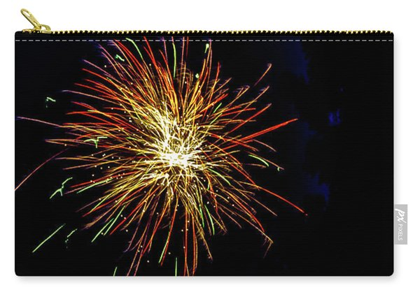 Carry-all Pouch featuring the photograph Fireworks by William Norton
