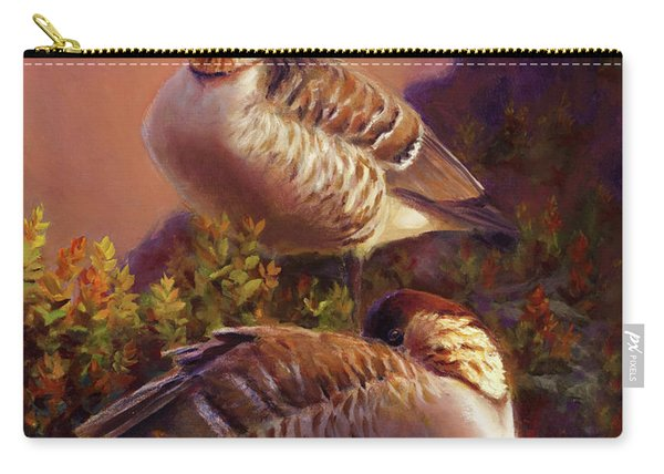 First Light Nene Hawaiian Goose Carry-all Pouch
