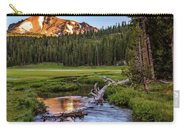 First Light On Lassen From Upper Meadow Carry-all Pouch
