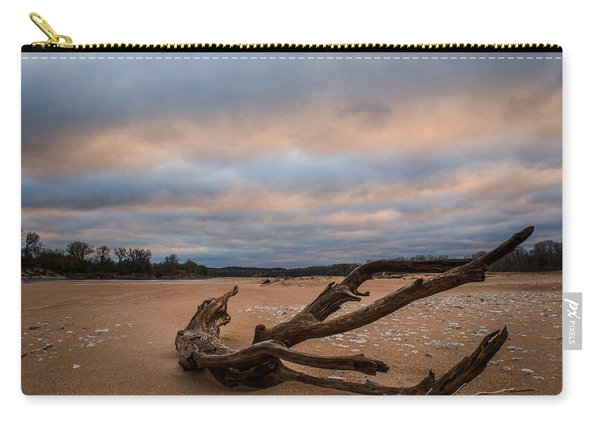First Light On The Kaw Carry-all Pouch