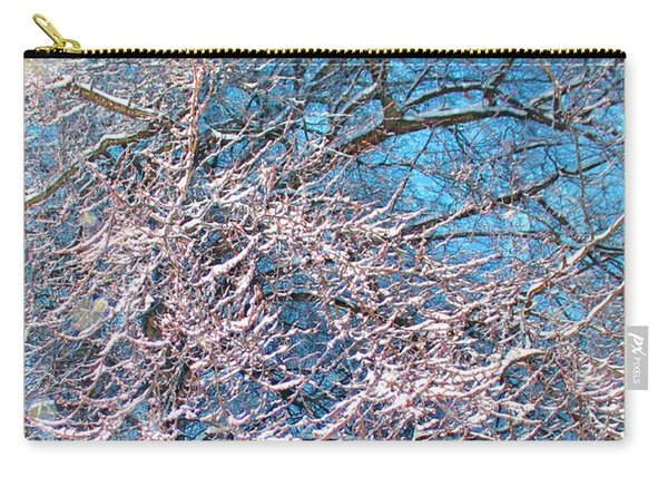 First Snow At Dawn Carry-all Pouch