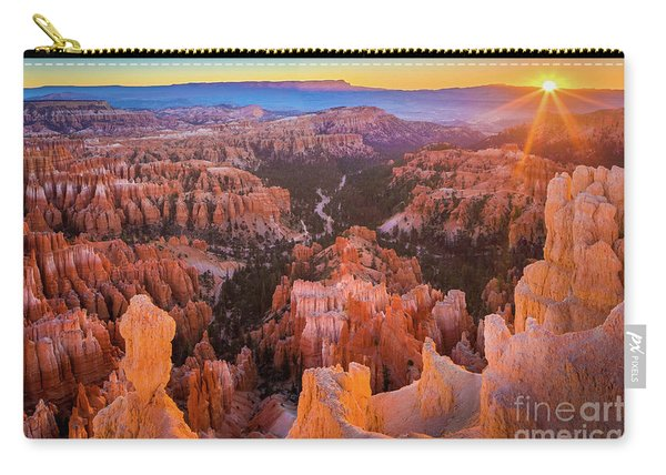 First Sun Rays At Bryce Carry-all Pouch