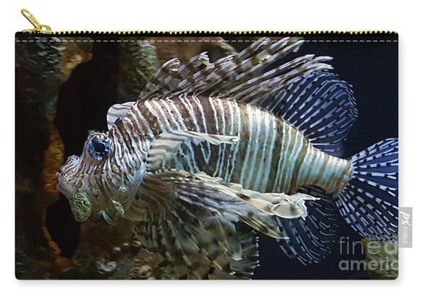 Carry-all Pouch featuring the photograph Fish by Jimmy Clark