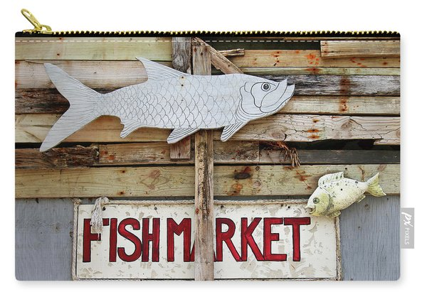 Fish Market Carry-all Pouch