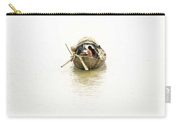Fishermen On The Lower Ganges Carry-all Pouch