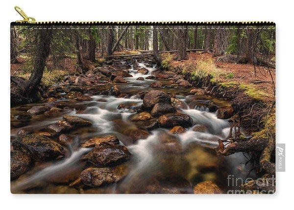 Fishhook Creek Waterscape Art By Kaylyn Franks Carry-all Pouch