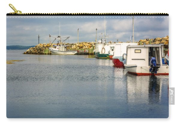 Fishing Boats At Feltzen South Carry-all Pouch