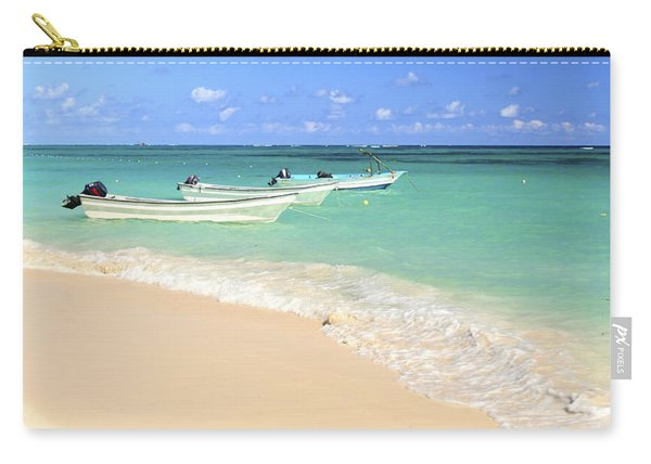 Fishing Boats In Caribbean Sea Carry-all Pouch