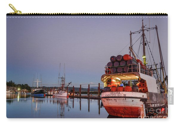 Fishing Boats Waking Up For The Day Carry-all Pouch