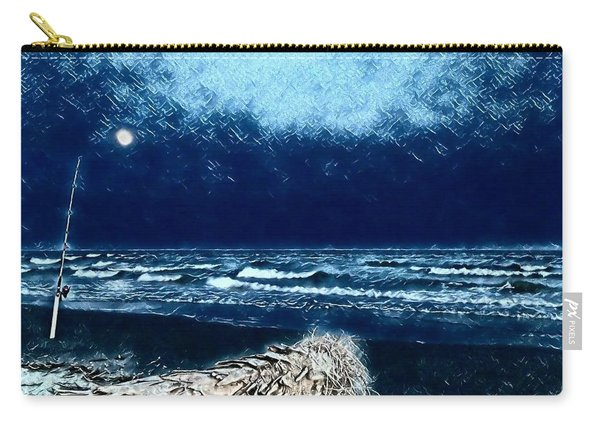 Fishing For The Moon Carry-all Pouch