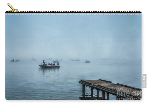 Fishing In The Fog Summersville Lake  Carry-all Pouch