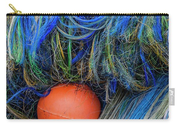 Fishing Nets And Buoy Carry-all Pouch