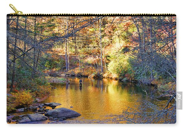 Fishing On The Cullasaja By H H Photography Of Florida Carry-all Pouch