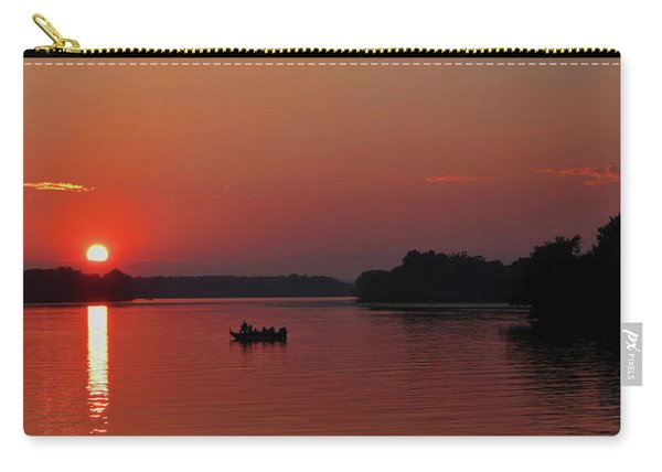Fishing Until Sunset Carry-all Pouch