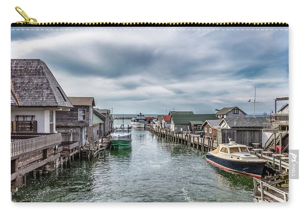 Fishtown Michigan In Leland Carry-all Pouch