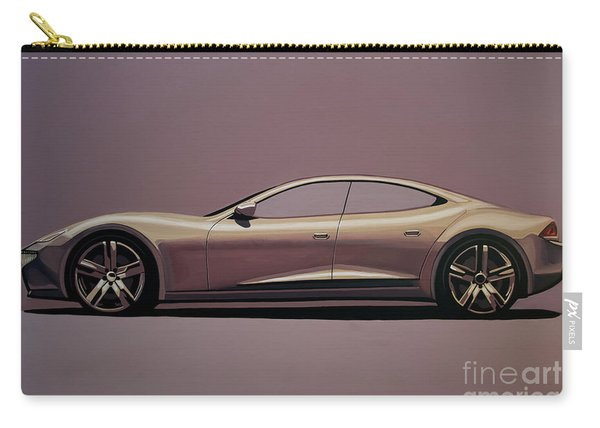 Fisker Karma 2012 Painting Carry-all Pouch