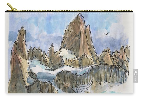 Fitz Roy, Patagonia Carry-all Pouch