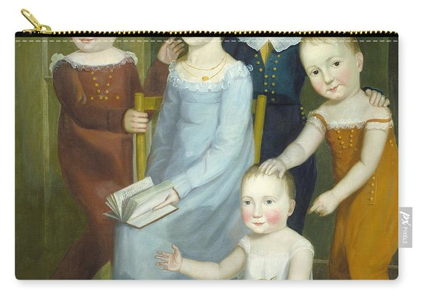 Five Children Of The Budd Family Carry-all Pouch