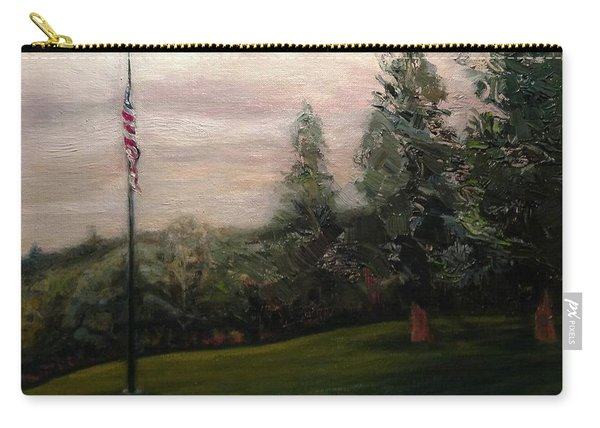 Flag Pole At Harborview Park Carry-all Pouch