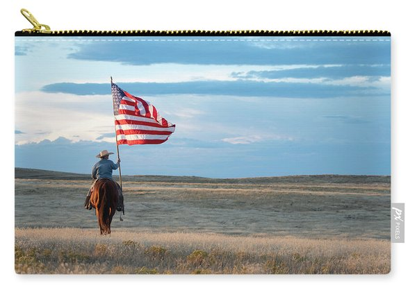 Flag Of Freedom Carry-all Pouch